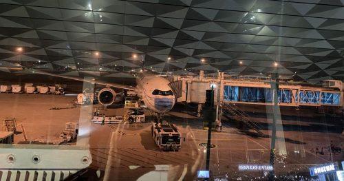 バリ島から関西国際空港への帰国(2020年11月)